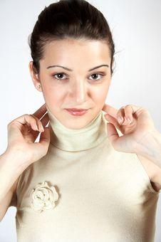 Free Elegant Young Girl 05 Royalty Free Stock Photos - 262678
