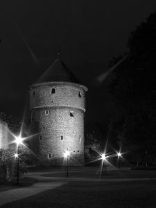 Free Tallinn In The Night. Stock Photos - 264083
