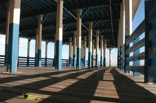 Free Pier With Colors Royalty Free Stock Photo - 264475