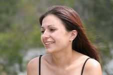 Free Pretty Woman In Park II Stock Image - 264591