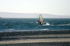 Free Windsurfing 3 Royalty Free Stock Images - 265079