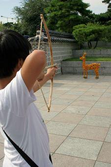 Free Comic Archery Stock Photos - 265453