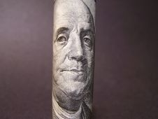 Ben Franklin Royalty Free Stock Photography