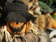 Free Scarecrow Portrait Royalty Free Stock Photo - 267705