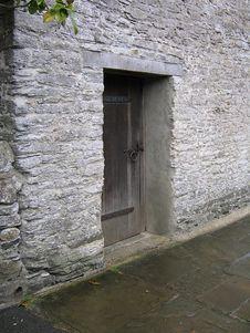 Free Old Doorway Near Buckfast Abbey In Devon Stock Photo - 268350