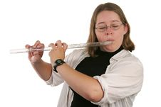 Free Student Flautist Stock Images - 268974