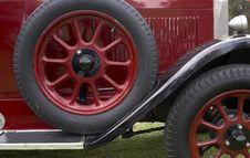 Spare Wheel Stock Photo