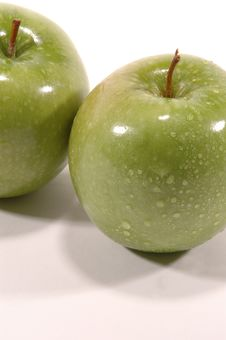 Free Granny Smith Twice Stock Images - 269584
