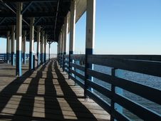 Old Pier Royalty Free Stock Image