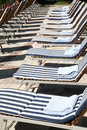 Free Beach Deckchairs Royalty Free Stock Images - 2606319