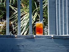 Free Iced Tea On Vacation Stock Images - 2600314