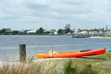 Ocean Kayak Royalty Free Stock Photo
