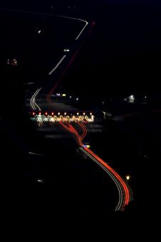 Free Traffic By Night Stock Photos - 2601303