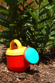 Free Child S Watering Pot Stock Photo - 2602020