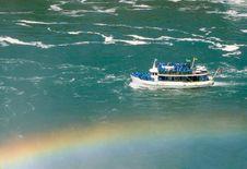 Free Niagara Falls Boat Tour Royalty Free Stock Image - 2602026
