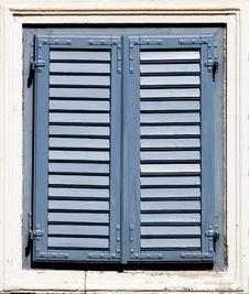 Free Blue Window Stock Image - 2603591