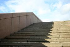 Stairway To Sky Royalty Free Stock Photography