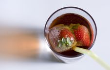 Free Cold Drink Strawberry Stock Photos - 2603923