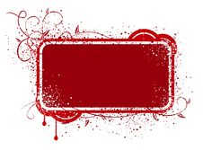 Free Red Frame Illustration Royalty Free Stock Images - 2604259