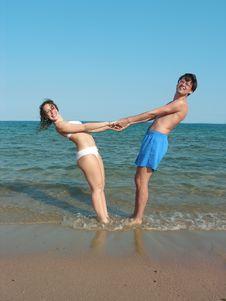 Free Happy Couple Royalty Free Stock Image - 2605206