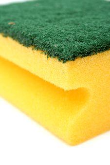 Free Sponge For Washing Utensils Stock Image - 2605381
