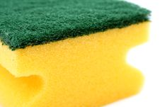 Free Sponge For Washing Utensils Stock Photos - 2605393