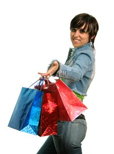 Free The Happy Consumer Stock Photography - 2605712