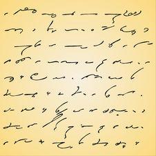 Free Manuscript Stock Images - 2606014