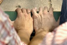 Free Holding Hands Stock Image - 2608731