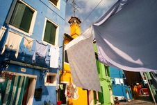 Free Street Of Burano Royalty Free Stock Photo - 2609255