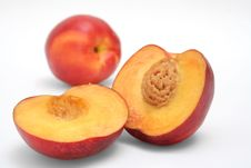 Free Peaches In Halves Royalty Free Stock Image - 2609456