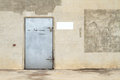 Free Concrete Wall With Metal Door Stock Photos - 26008423