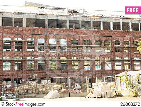 Free Construction Site Stock Photography - 26008372