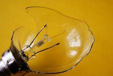 Free Broken Light Bulb Stock Image - 26006921