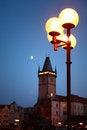 Free Night In Prague Royalty Free Stock Images - 26013989