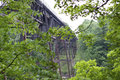 Free 1887 Iron Railroad Bridge Through The Trees Stock Photo - 26016740