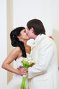 Free Kiss Bride And Groom Stock Photography - 26017832