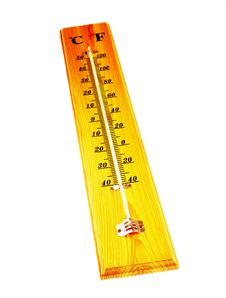 Free Thermometer Royalty Free Stock Photography - 26010277