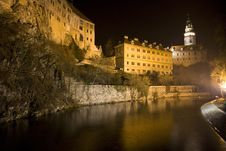 Free Castle At Night Stock Photos - 26012143