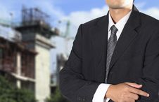 Free Cropped View Of Businessman Royalty Free Stock Photography - 26012147