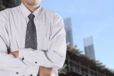 Free Cropped View Of Businessman Stock Photography - 26012182