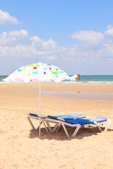 Free Mediterranean Sandy Sea Beach Stock Images - 26012234