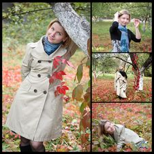 Free Autumn, Collage Royalty Free Stock Image - 26014626