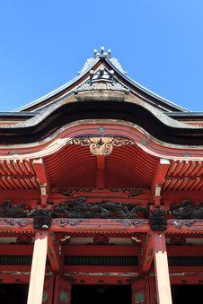 Japanese Temple, Tokyo, Japan Stock Image