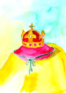 Free Royal Crown Stock Photography - 26016602
