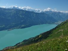 Free Lake Brienzersee And Interlaken Stock Images - 26016684
