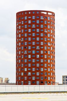 Free Cylindrical Apartments Tower Stock Photography - 26018422