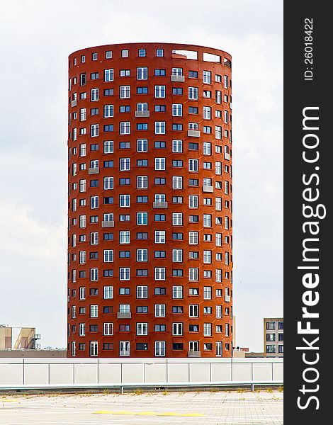 Cylindrical Apartments Tower