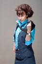 Free Beautiful Stewardess Stock Image - 26027051