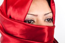 Free Arabian Girl Eyes Stock Images - 26021364